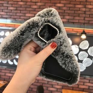 قاب خرگوشی خزدار آیفون Rabbit Fur Case Apple iPhone 11