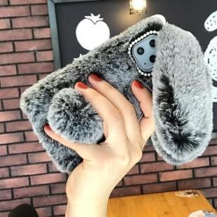 قاب خرگوشی خزدار آیفون Rabbit Fur Case Apple iPhone 11 Pro Max