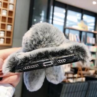 قاب خرگوشی خزدار هواوی Rabbit Fur Case Huawei Mate 20