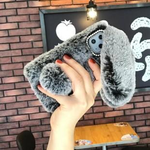قاب خرگوشی خزدار هواوی Rabbit Fur Case Huawei Mate 20 Pro