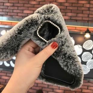 قاب خرگوشی خزدار هواوی Rabbit Fur Case Huawei Mate 20x