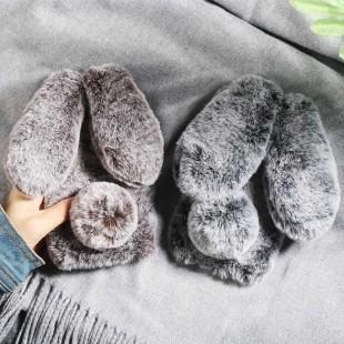 قاب خرگوشی خزدار هواوی Rabbit Fur Case Huawei Nova 4