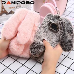 قاب خرگوشی خزدار سامسونگ گلکسی Rabbit Fur Samsung Galaxy S10