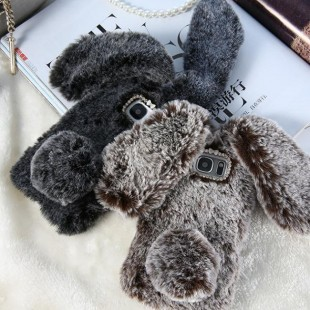 قاب خرگوشی خزدار سامسونگ گلکسی Rabbit Fur Samsung Galaxy S10e