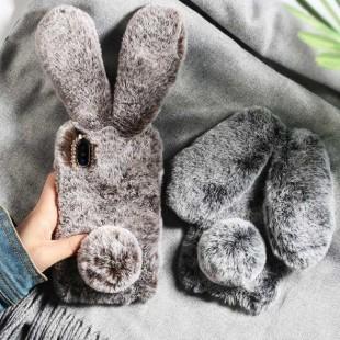 قاب خرگوشی خزدار سامسونگ گلکسی Rabbit Fur Samsung Galaxy M10