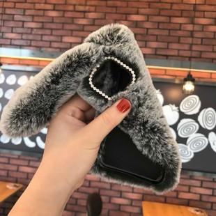 قاب خرگوشی خزدار سامسونگ گلکسی Rabbit Fur Samsung Galaxy M40