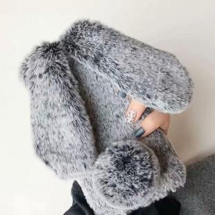 قاب خرگوشی خزدار سامسونگ گلکسی Rabbit Fur Samsung Galaxy Note 10