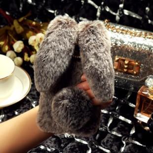 قاب خرگوشی خزدار سامسونگ گلکسی Rabbit Fur Samsung Galaxy Note 10 Plus