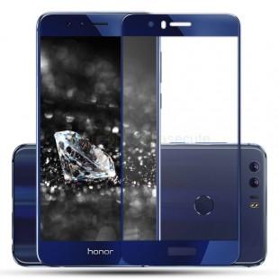 محافظ LCD شیشه ای Full glass Screen Protector.Guard for Huawei Honor 8 گلس با پوشش کامل قسمت منحنی