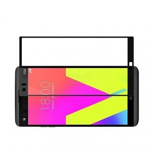 محافظ LCD شیشه ای Full glass Screen Protector.GuardLG V20 گلس با پوشش کامل قسمت منحنی