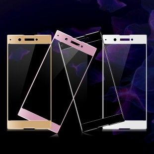 محافظ LCD شیشه ای Full glass Screen Protector.Guard Sony Xperia XA 1