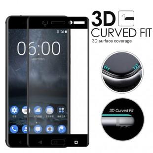 محافظ LCD شیشه ای Full Glass Screen Protector.Guard Nokia Nokia 8