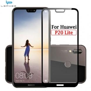 محافظ LCD شیشه ای Full Glass Screen Protector.Guard Huawei P20 Lite