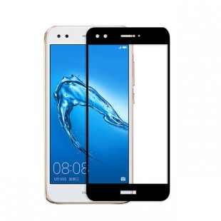 محافظ LCD شیشه ای Full Glass Screen Protector.Guard Huawei Y6 2018