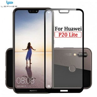محافظ LCD شیشه ای فول چسب Full Glass Full Glue Screen Protector.Guard Huawei P20 Lite