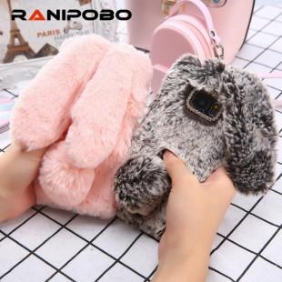 قاب خرگوشی خزدار شیائومی Rabbit Fur Case Xiaomi Mi Max 3