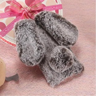 قاب ژله ای خرگوشی خزدار شیائومی Rabbit Fur Case Xiaomi Mi CC9