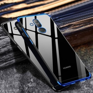 قاب ژله ای دور رنگی BorderColor Case Huawei Mate 20 Lite