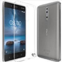 قاب ژله ای پشت طلقی Talcous Case Nokia Nokia 8