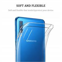 قاب ژله ای پشت طلقی Talcous Case Samsung Galaxy A7 2018