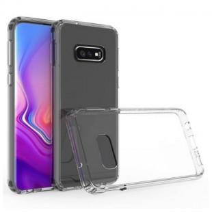 قاب ژله ای پشت طلقی سامسونگ TPU Glass Case Samsung Galaxy S10e