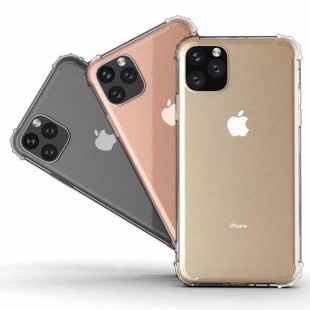 قاب ژله ای پشت طلقی اپل TPU Glass Case Apple iPhone 11 Pro