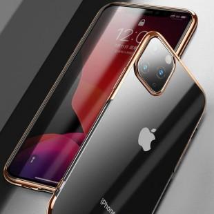 قاب ژله ای دور رنگی آیفون BorderColor Case Apple iPhone 11 Pro Max