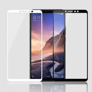 فول گلس تمام چسب گوشی شیائومی Full Glass Xiaomi Mi Max 3