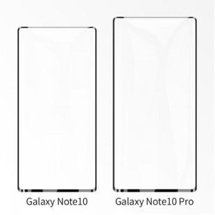 محافظ صفحه نمایش تمام چسب پلیمری نانو مات گلکسی نوت 10 Galaxy Note 10 Plus Nano Polymer Glass