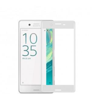 محافظ LCD شیشه ای Full glass Screen Protector.Guard for Sony Xperia XA گلس با پوشش کامل قسمت منحنی
