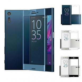 محافظ LCD شیشه ای Full glass Screen Protector.Guard for Sony Xperia XZ گلس با پوشش کامل قسمت منحنی