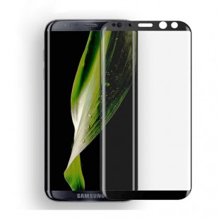 محافظ LCD شیشه ای Full glass Full Glue Samsung Galaxy S8 فول گلس فول چسب