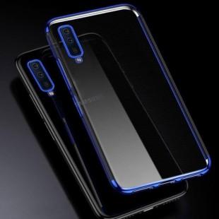 قاب ژله ای دور رنگی BorderColor Case Galaxy A7 2018-A750