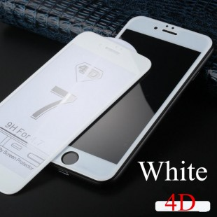 محافظ LCD شیشه ای Full Glass 4D Screen Protector.Guard Apple iPhone 7 Plus