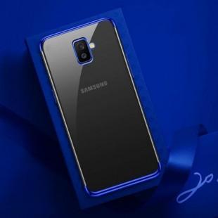 قاب ژله ای دور رنگی BorderColor Case Galaxy J6 Plus
