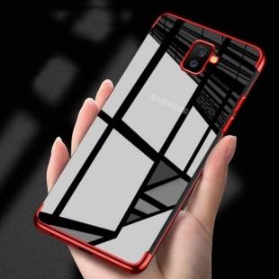 قاب ژله ای دور رنگی BorderColor Case Samsung Galaxy J6