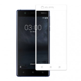محافظ LCD شیشه ای Full Glass فول گلس Screen Protector.Guard Nokia Nokia 3