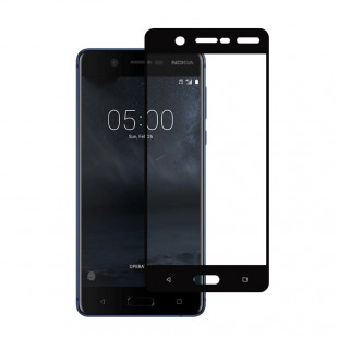 محافظ LCD شیشه ای Full Glass فول گلس Screen Protector.Guard Nokia Nokia 5