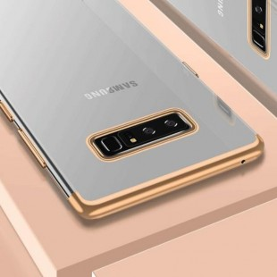 قاب ژله ای دور رنگی BorderColor Case Samsung Galaxy S10