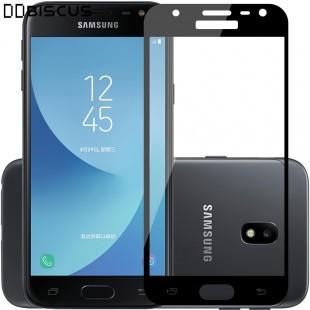محافظ LCD شیشه ای Full Glass Screen Protector.Guard Samsung Galaxy J3 Pro