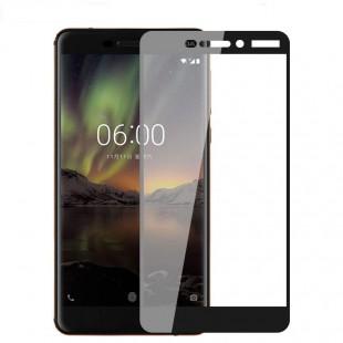 محافظ LCD شیشه ای Full Glass Screen Protector.Guard Nokia Nokia 6.1 2018