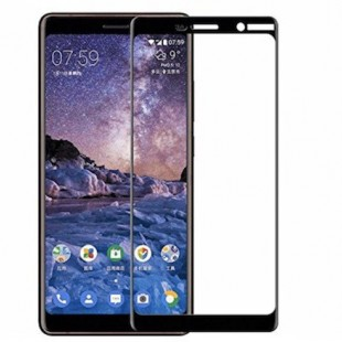 محافظ LCD شیشه ای Full Glass Screen Protector.Guard Nokia Nokia 7 Plus