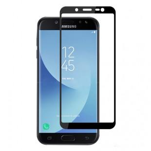 محافظ LCD شیشه ای فول چسب Full Glass Full Glues Screen Protector.Guard Samsung Galaxy J4
