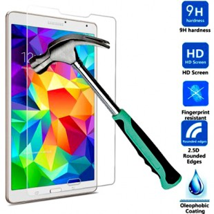محافظ LCD شیشه ای Glass Screen Protector.Guard for Samsung Galaxy TabS 8.4 T700 / T705