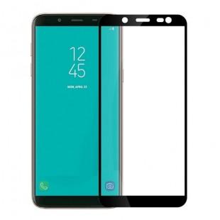 فول گلس فول چسب سامسونگ Full Glass Samsung Galaxy J8 2018