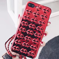 قاب ژله ای Lips Case Apple iPhone 7 Plus