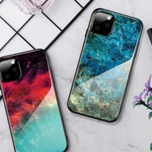 قاب کهکشانی پشت گلس آیفون Back Glass Case Apple iPhone 11