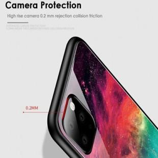 قاب کهکشانی پشت گلس آیفون Back Glass Case Apple iPhone 11 Pro