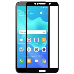 فول گلس فول چسب هواوی Full Glass Huawei Y5 Prime 2018