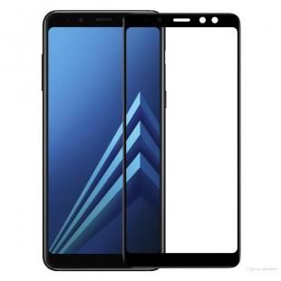 فول گلس فول چسب سامسونگ Full Glass Samsung Galaxy A8 Plus